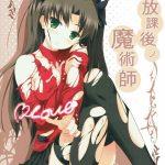 【Fate】学校内で凛に追われる士郎が魔術で凛を拘束しそのまま犯す【同人誌】