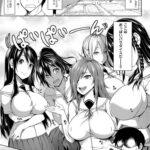 【エロ漫画オリジナル】おっぱい包囲網