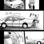 【エロ漫画オリジナル】セレブ妻と車の中で…